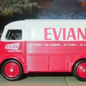 CITROEN TUB TYPE H VAN PUB EAUX EVIAN 1/50 CORGI - car-collector.net