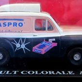 FASCICULE N°4 RENAULT COLORALE ASPRO IXO 1/43 - car-collector.net