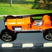 OLD #3 HOT WHEELS 1/64 VIEILLE VOITURE DE COURSE F1 - car-collector.net