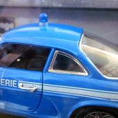 RENAULT ALPINE A110 GENDARMERIE BURAGO 1/24 - car-collector.net
