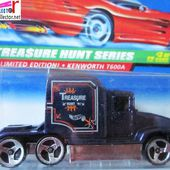 BIG RIG CAMION KENWORTH T600A HOT WHEELS 1/64 - car-collector.net
