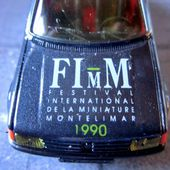 PEUGEOT 205 GTI FIMM FESTIVAL INTERNATIONAL MINIATURE MONTELIMAR CJD 1/43 - car-collector.net