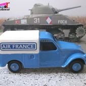 CITROEN 2CV FOURGONNETTE AIR FRANCE J.R.D 1/43 - car-collector.net