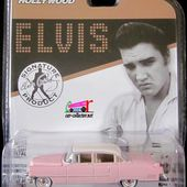 1955 CADILLAC FLEETWOOD ELVIS PRESLEY GREENLIGHT HOLLYWOOD 1/64 - car-collector.net