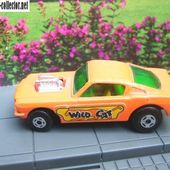 WILD CAT DRAGSTER VOITURE MINIATURE MATCHBOX SUPERFAST - car-collector.net