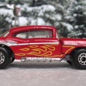 57 CHEVY MATCHBOX SERIE SUPERFAST 1/66 MOTEUR SORTANT - car-collector.net