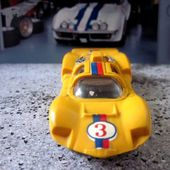 CHAPARRAL 2D JAUNE 1969 CHAMPION 1/66 - car-collector.net