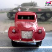 CITROEN 2CV AZU 1954 POMPIERS DINKY TOYS 1/43 - car-collector.net