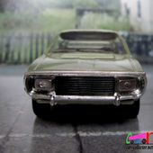 RENAULT 15 TS 1975 COUPE VERT METALLISE VEREM 1/43 - car-collector.net