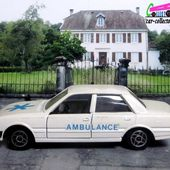 PEUGEOT 505 AMBULANCE SOLIDO 1/43 - car-collector.net