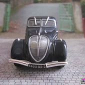 FASCICULE N°3 PEUGEOT 402B 1939 NOREV 1/43 HACHETTE COLLECTIONS - car-collector.net