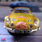 ALPINE RENAULT A110 1600 BERLINETTE TOUR DE FRANCE SOLIDO 1/43 - car-collector.net