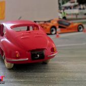 ALPINE RENAULT A106 ROUGE 1955 MILLE MILES C.I.J 1/43 - car-collector.net
