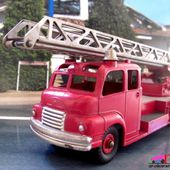 BEDFORD SL GRANDE ECHELLE POMPIERS 1955 DINKY SUPERTOYS 1/43 - car-collector.net