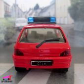 RENAULT CLIO 16S POMPIERS ORLEANS SOLIDO 1/43 - car-collector.net