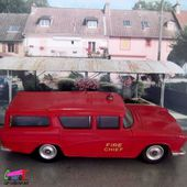 NASH RAMBLER CANADIAN FIRE CHIEFS DINKY TOYS 1/43 - car-collector.net