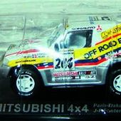 FASCICULE N°8 MITSUBISHI PAJERO 4X4 PARIS DAKAR 1998 - car-collector.net