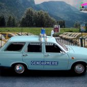 FASCICULE N°36 RENAULT 12 BREAK 1981 GENDARMERIE AERIENNE NOREV 1/43 - car-collector.net