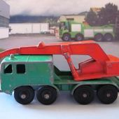 MB30-c. 8 WHEEL CRANE CAMION LESNEY MATCHBOX 1/116 - CAMION GRUE - car-collector.net