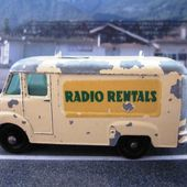 MB62-b. COMMER TV SERVICE VAN RADIO RENTALS LESNEY 1/75 - car-collector.net