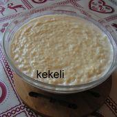 Riz au lait au miel