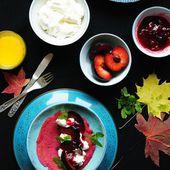 Pancakes Red Velvet à la Betterave rouge - Cuisine et Cigares