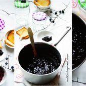 Gelée de Prunelles Sauvages pour le MMM n°42 - Cuisine et Cigares