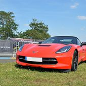 AG83 * Chevrolet Corvette C7 Stingray convertible Z51 '14 - Palais-de-la-Voiture.com