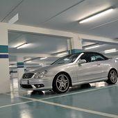 AG52 * Mercedes CLK (W209) 55 AMG cabriolet '02 - Palais-de-la-Voiture.com