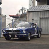 '65 Shelby Mustang GT 350 préparée - Palais-de-la-Voiture.com