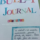 Bullet journal ou l'agenda MacGyver! - Sonia - démonstratrices Stampin'Up! ® en Normandie