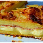 Gâteau Invisible Raclette - NUAGE DE LAIT