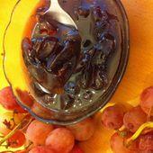 CONFITURE DE RAISINS ROSE - La Cuisine Juive Sepharad et autres recettes gourmandes ...