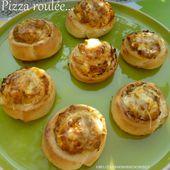 Idée Recette de ramadan Pizza roulée... - UneLiyaasDeBonnesChoses