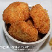 Nuggets de poulet maison(recette facile,rapide,économique) - UneLiyaasDeBonnesChoses