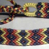Bracelets Brésiliens - Niveau 3 - Modèle 5 - Passions Ephémères