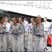 Oh dis !... Danse avec les Stars sur le stand Audi - Images du Beau du Monde