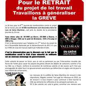Rouen, Le Havre, Dieppe dans la grève le 2 juin - Front Syndical de Classe