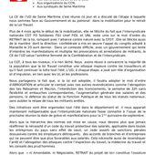 Lutte contre la loi travail : réflexions de l'UD CGT de Seine maritime - Front Syndical de Classe