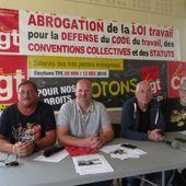 Dieppe : mobilisation contre la loi anti-travail ... et les autres périls en cours! - Front Syndical de Classe