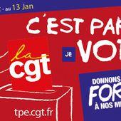 Ouverture du vote dans les TPE du 30/12 au 13 janvier : c'est la CGT qu'il faut renforcer - Front Syndical de Classe