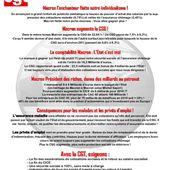 En marche ... vers le désastre ? ... OU vers le 12 septembre - Front Syndical de Classe