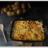 Gratin de poireaux et pommes de terre - Un dîner en provence