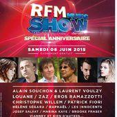 RFM Music Show : concert gratuit avec Willem, Ramazotti, Fiori, Louane... - LeBlogTvNews
