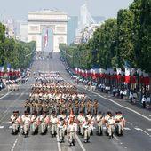 Programme détaillé du défilé du 14 juillet 2015 à Paris : les horaires et troupes. - LeBlogTvNews