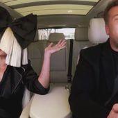 Le Carpool Karaoke avec Sia et James Corden (Vidéo). - LeBlogTvNews