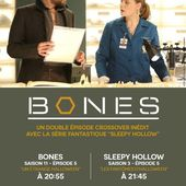 "Crossover inédit ""Bones"" et ""Sleepy Hollow"" sur M6 vendredi 15 avril. - LeBlogTvNews"