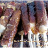 Yakitori de boeuf et au fromage - Girly and Delicious