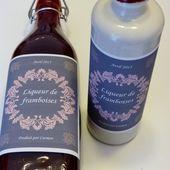 Liqueur de framboises - Cuisine gourmande de Carmencita
