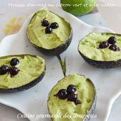 Mousse d'avocat au citron vert et vodka - Cuisine gourmande de Carmencita